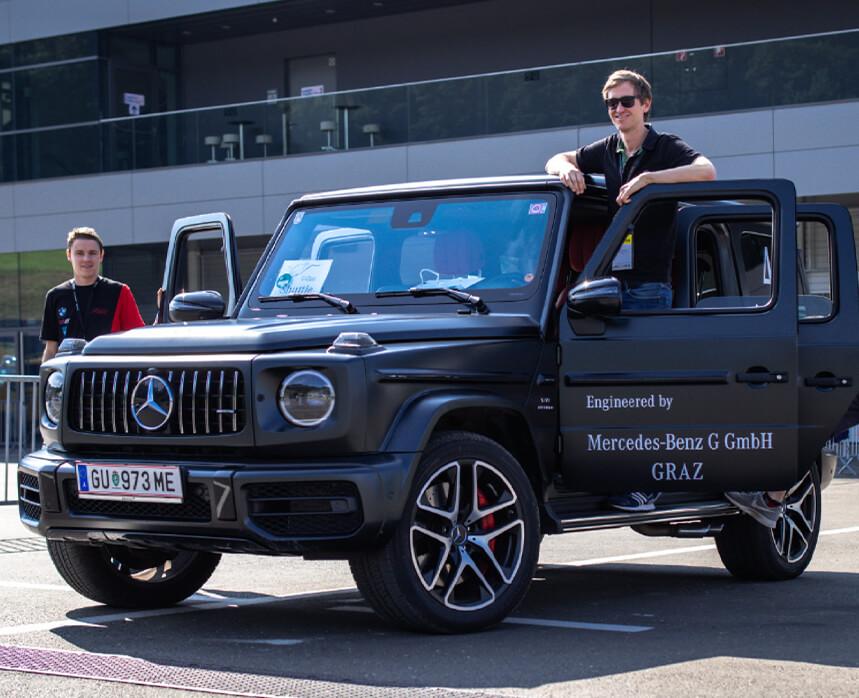 Premiere für die Mercedes-Benz G GmbH.